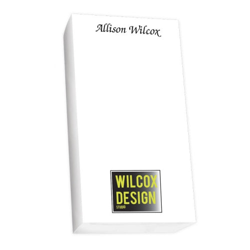 Custom Image Notepad Collection List White Refill