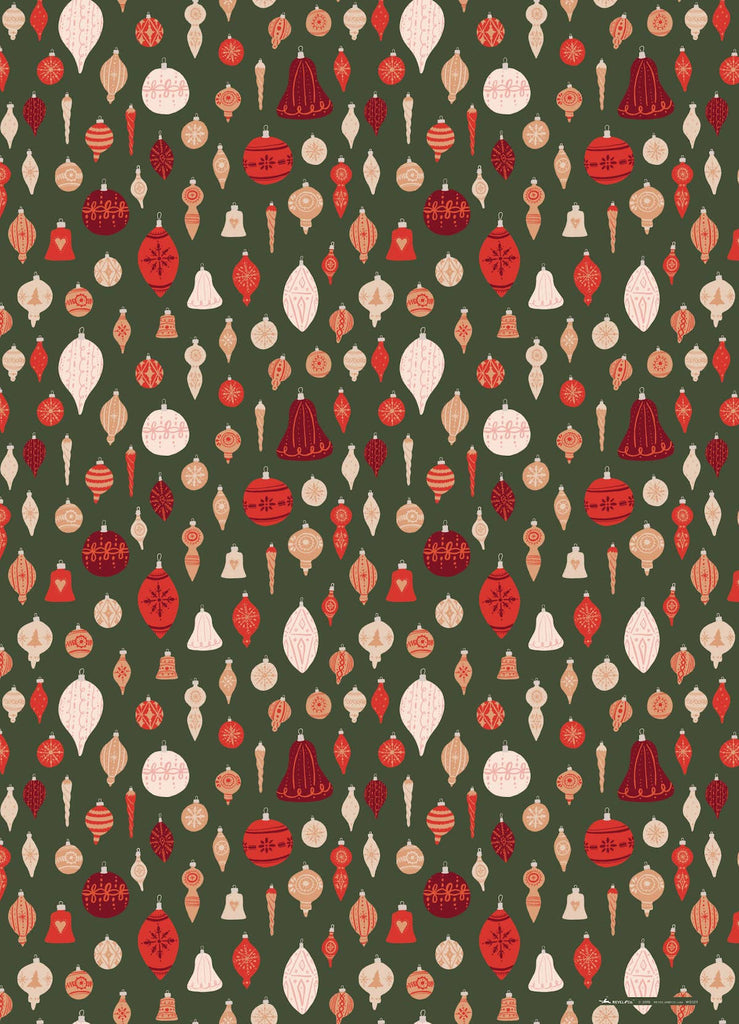 Ornaments Wrapping Sheet