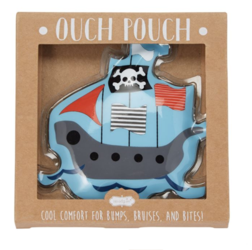 Pirate Ship Ouch Pouch Ice Pack