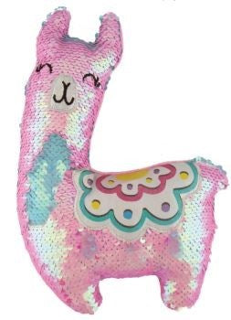 Magic Sequin Plush-Llama