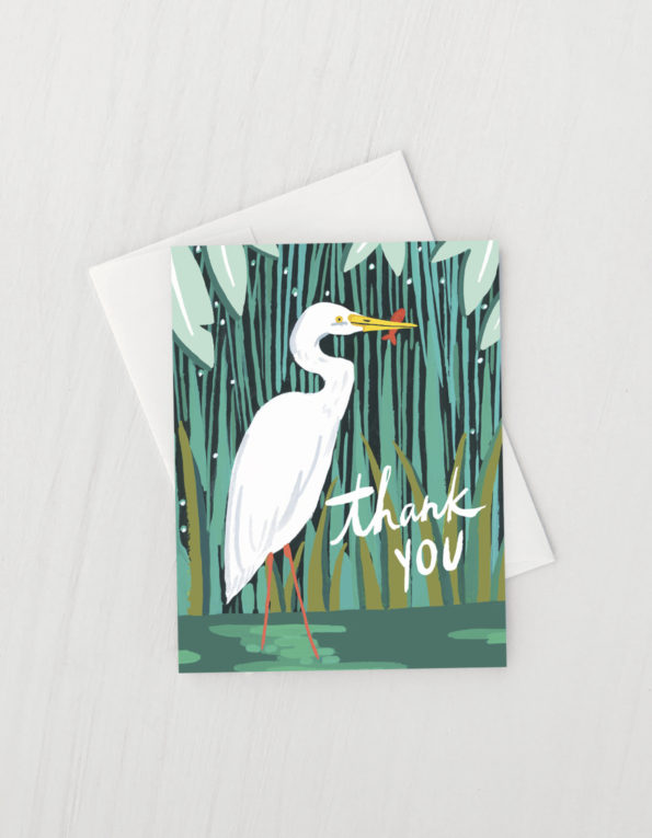 Egret Thank You