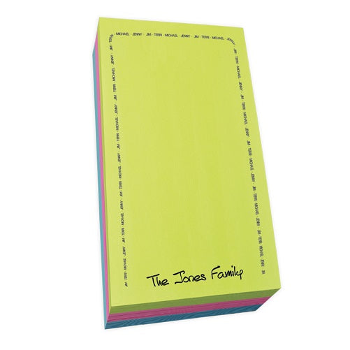 Family Arch Notepad Collection List Carnival Refill