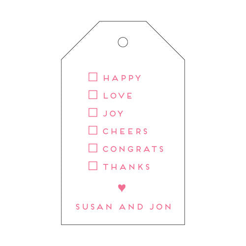 All Occasion Gift Tag