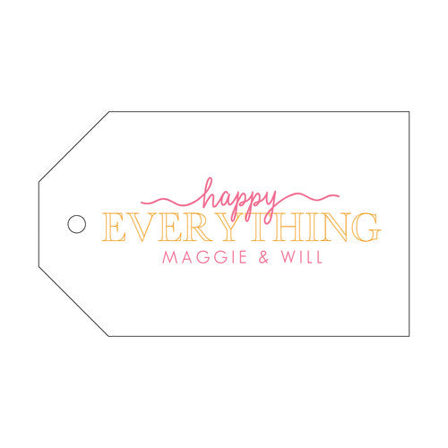 Happy Everything Gift Tag