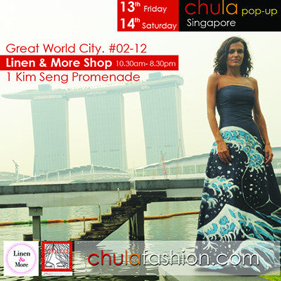 Chula Pop -Up  in Singapore