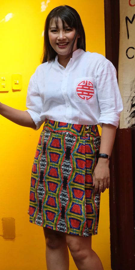 flag skirt- WS18