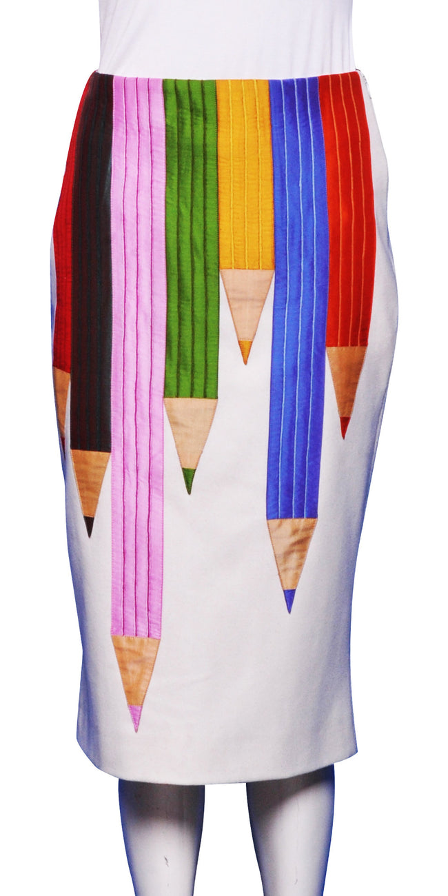 WS31 - pencils skirt