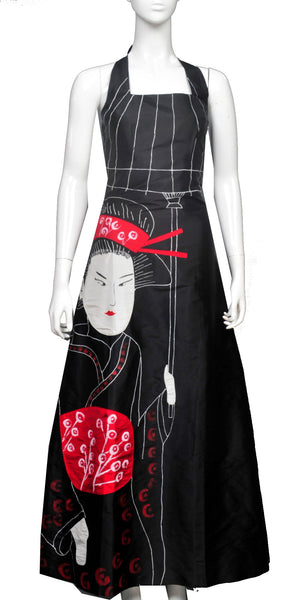 Geisha with umbrella - JP12