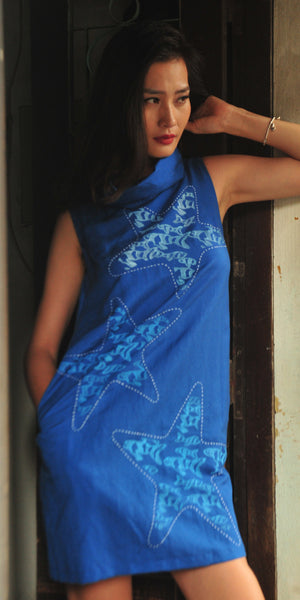 Star Fishes - SS15.1 (Blue)