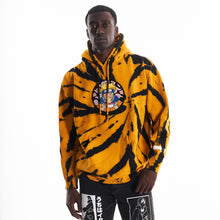 Load image into Gallery viewer, NARUTO RAMEN CHENILLE HOODIE (YELLOW TIE DYE)