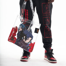 Load image into Gallery viewer, NARUTO UCHIHA BROTHERS TOTE BAG (CLEAR)