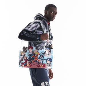 NARUTO CHUNIN EXAM TOTE BAG (CLEAR)