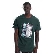 Load image into Gallery viewer, BLEACH ULQUIORRA GRID SHIRT (FOREST GREEN)