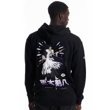 Load image into Gallery viewer, BLEACH KENPACHI HOODIE (BLACK)