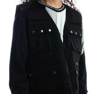 NARUTO JONIN TACTICAL VEST (BLACK)