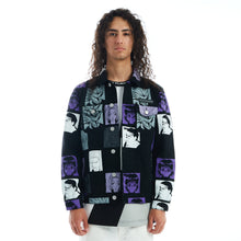 Load image into Gallery viewer, HXH PHANTOM TROUPE DENIM JACKET (BLACK)