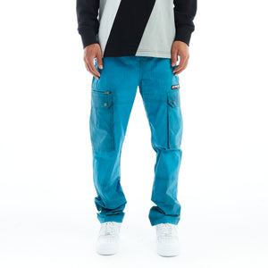 H+PLUS THERMO REACTIVE CARGO PANTS (AQUA)