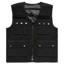 Load image into Gallery viewer, NARUTO JONIN TACTICAL VEST (BLACK)