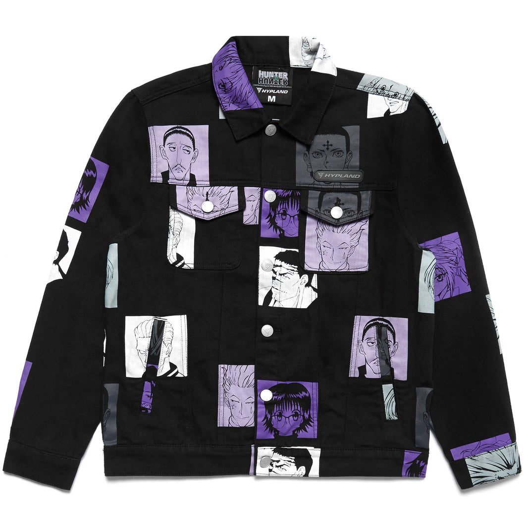 HXH PHANTOM TROUPE DENIM JACKET (BLACK)
