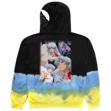 Load image into Gallery viewer, INUYASHA SESSHOMARU CRESCENT HOODIE (TIE DYE)