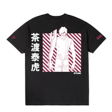 Load image into Gallery viewer, BLEACH CHAD GRID SHIRT (BLACK)