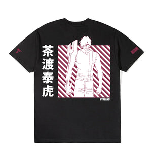 BLEACH CHAD GRID SHIRT (BLACK)