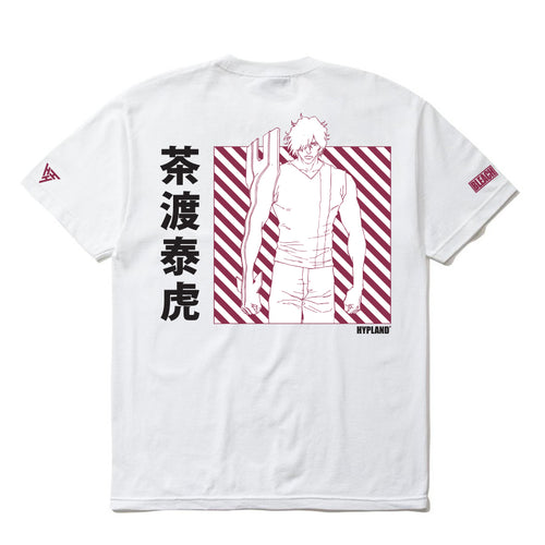 BLEACH CHAD GRID SHIRT (WHITE)
