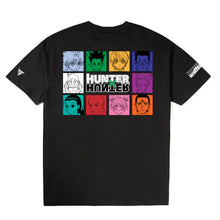 Load image into Gallery viewer, HXH COLOR CHARACTER SHIRT (BLACK)