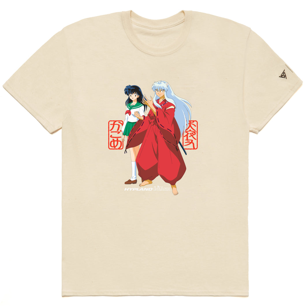 INUYASHA FRONT BACK SHIRT (CREAM)