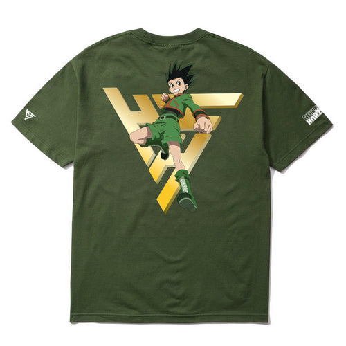 HXH GOLDEN GON SHIRT (OLIVE)