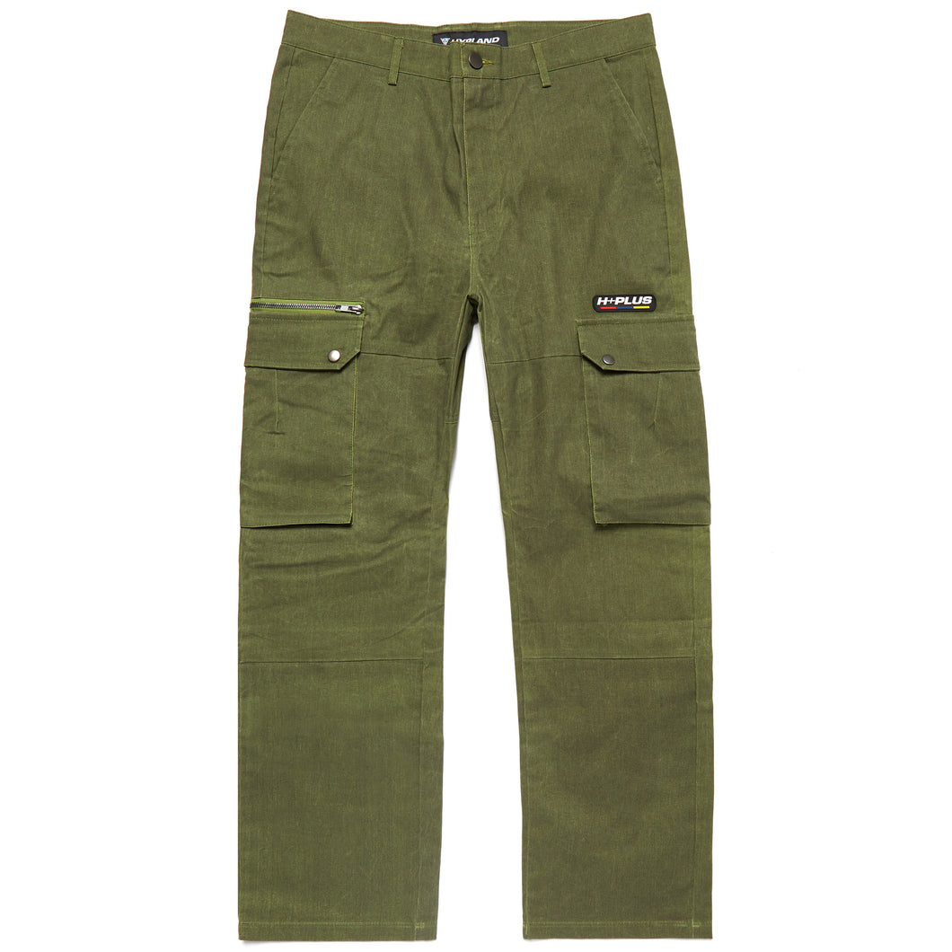 H+PLUS THERMO REACTIVE CARGO PANTS (OLIVE)