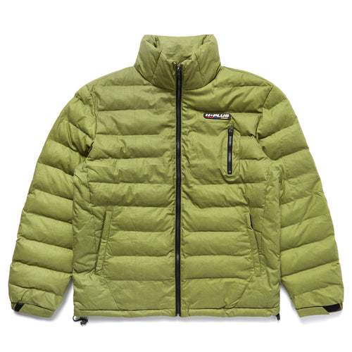 H+PLUS THERMO REACTIVE PUFFER JACKET (OLIVE)