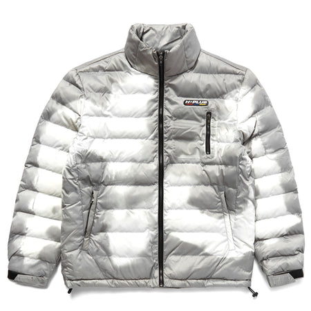 H+PLUS THERMO REACTIVE  PUFFER JACKET (GREY)