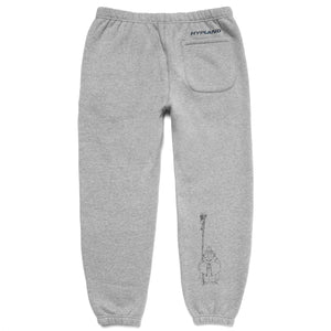 INUYASHA SESSHOMARU SWEATPANTS (HEATHER GREY)