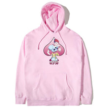 Load image into Gallery viewer, HXH HISOKA SPADE HOODIE (PINK)