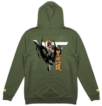 Load image into Gallery viewer, BLEACH HOLLOW ICHIGO HOODIE (OLIVE)