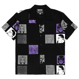 HXH PHANTOM TROUPE BUTTON UP SHIRT (BLACK)