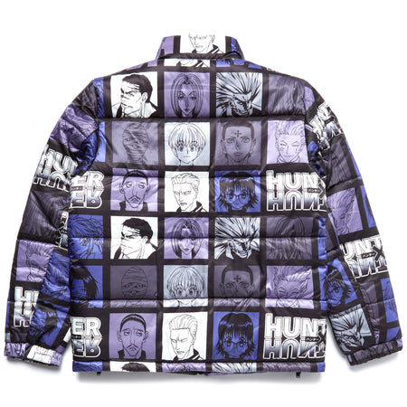 HXH PHANTOM TROUPE PUFFER JACKET (BLACK)