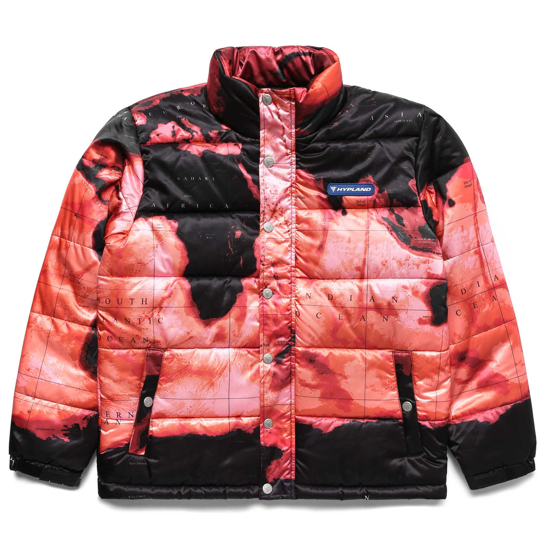 GLOBAL WARMING PUFFER JACKET (BLACK)