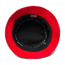 Load image into Gallery viewer, NARUTO AKATSUKI BUCKET HAT (BLACK)