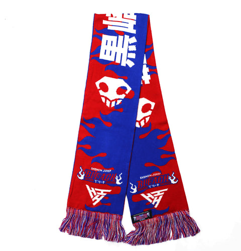 BLEACH SKULLS SCARF (BLUE)