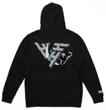Load image into Gallery viewer, BLEACH ICHIGO SLICE HOODIE (BLACK)