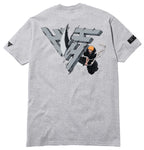ICHIGO SLICE SHIRT (HEATHER GREY)