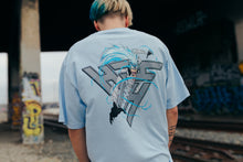 Load image into Gallery viewer, BLEACH GRIMMJOW SHIRT (LIGHT BLUE)