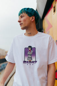 BLEACH RUKIA SHIRT (WHITE)