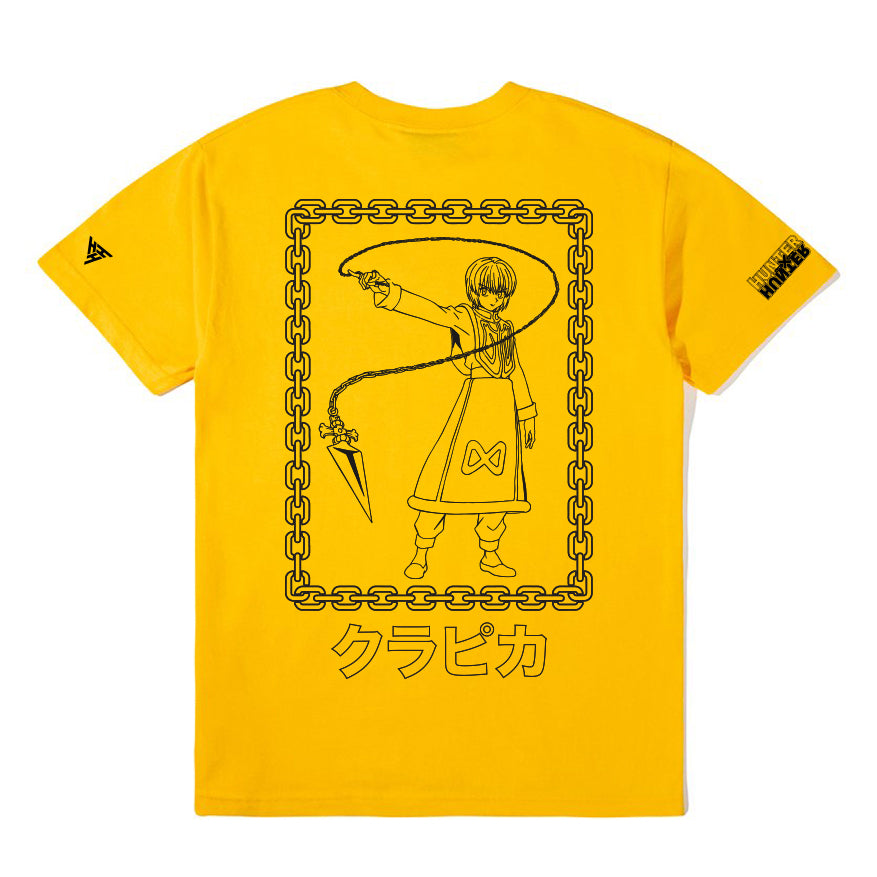 HXH KURAPIKA CHAIN SHIRT (GOLD)