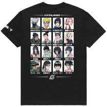 Load image into Gallery viewer, NARUTO LEAF VILLAGE TEAM SHIRT (BLACK)