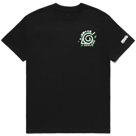 NARUTO LEAF VILLAGE TEAM SHIRT (BLACK)