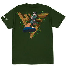 Load image into Gallery viewer, NARUTO ROCK LEE BREAK THROUGH SHIRT (OLIVE)