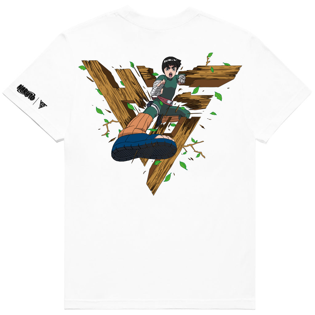 NARUTO ROCK LEE BREAK THROUGH SHIRT (WHITE)